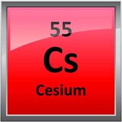 Cesium Periodic Table by 055 Cesium Science Notes And Projects