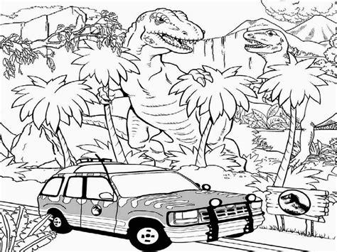 jurassic world dinosaur coloring dinosaurs park science