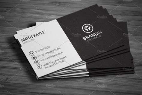 black and white business card template word 46 black white business card templates psd word free
