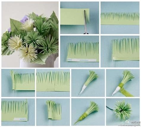 Easy Paper Flower Crafts - these paper flowers are easy to craft and spectacular in look