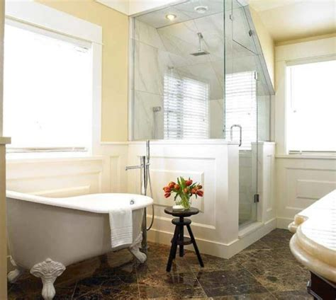 clawfoot tub in small bathroom soaking bathtubs sparkles and shoes