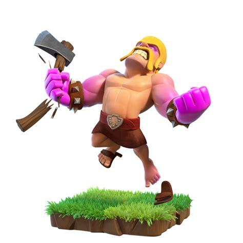 Coc Barbarian3 karakter baru di clash of clan coc pada mei 2017 gudangsiki
