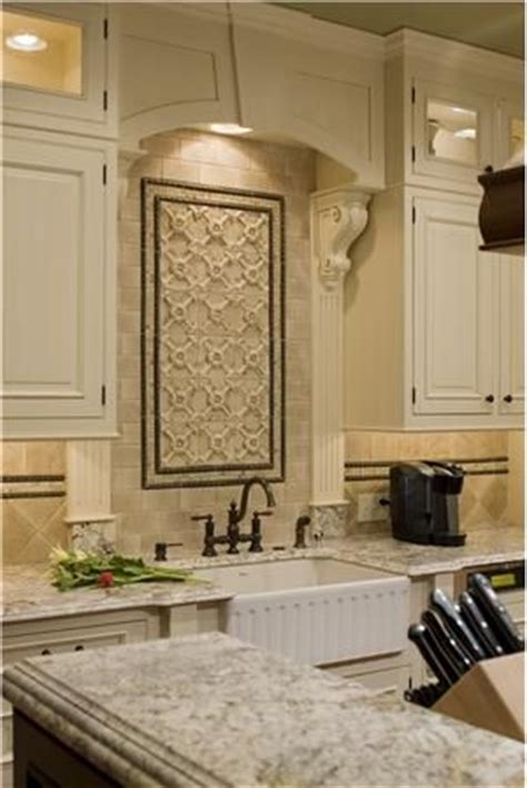 tile over kitchen sink colonial kitchen colonial and sinks on pinterest