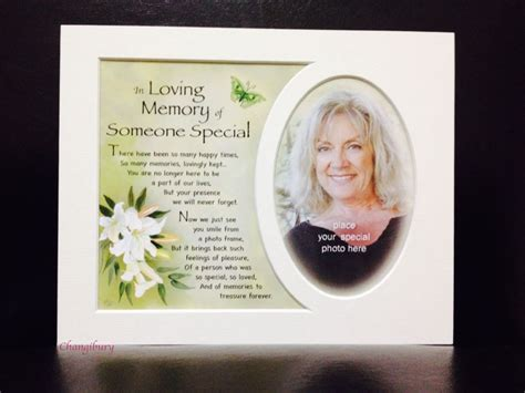 In Loving Memory of Someone Special Frame Me