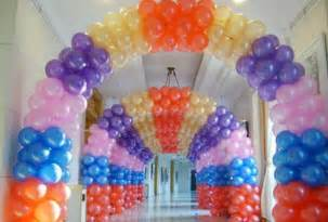 balloon decoration ideas for birthday favors ideas