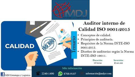 auditor interno iso 9001 auditor interno de calidad iso 9001 2015 3 y 10 de