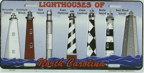 lighthousepage gift shop lh of nc license plate