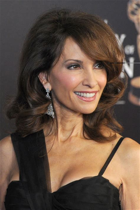 Susan Lucci Hairstyles by More Pics Of Susan Lucci Medium Wavy Cut 12 Of 16