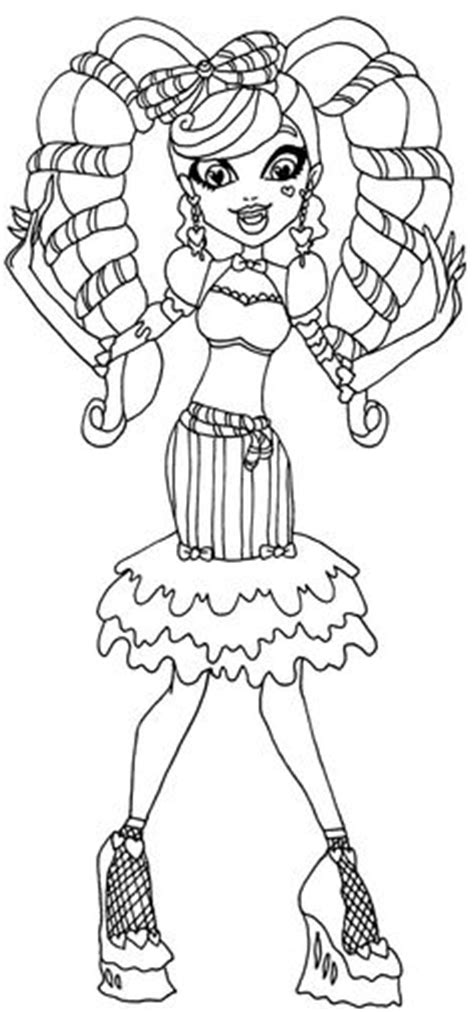 monster high madison fear coloring pages monster high free printables madison fear monster high