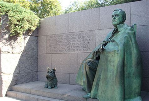 fdr memorial: the district