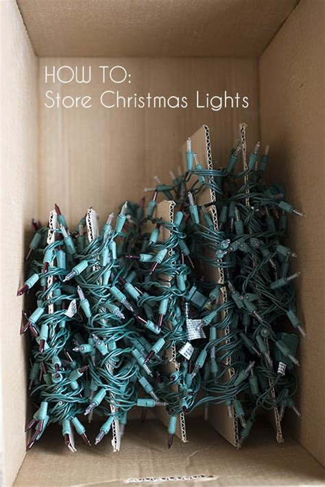 how to store lights 21 creative decoration storage ideas
