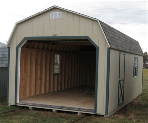 one car garages wood amish built one car garages for sale in virginia and
