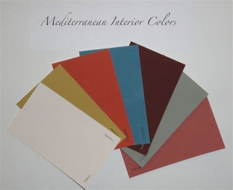 Mediterranean Paint Colors Interior by Mediterranean Interior Colors House