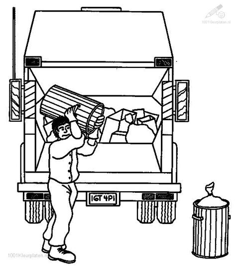 coloring page garbage truck garbage truck coloring pages coloring pages