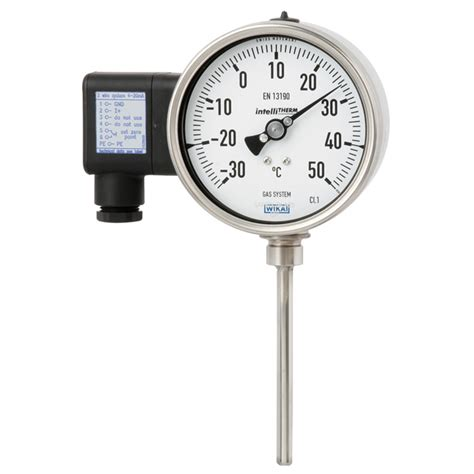 Termometer Gas by Gas Actuated Thermometer With Electrical Output Signal