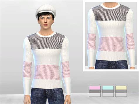 Sweater Marshmello 3 Cloth the sims 4 marshmallow sweater by mclaynesims