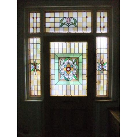11 Best Victorian Stained Glass Images On Pinterest Stained Glass Front Door
