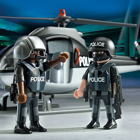 Playmobil Tactical Unit Helicopter playmobil city tactical unit helicopter 5563