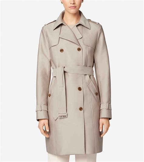 Dress Bruberry Dresstali Pinggang cole haan tali trench coat in lyst