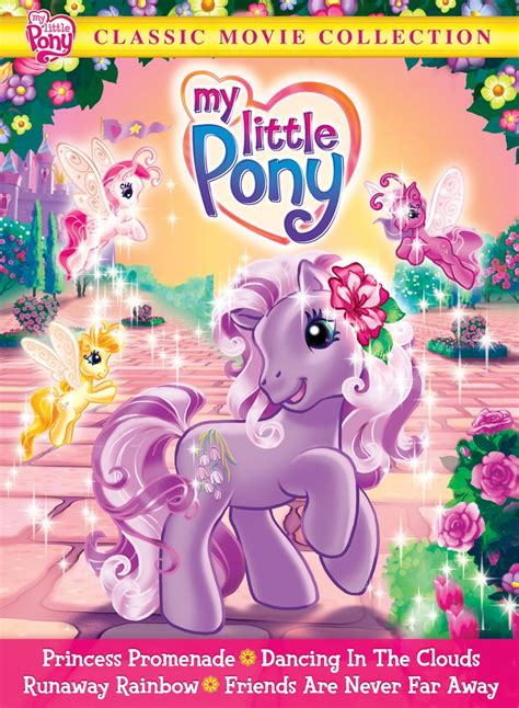 film mlp 4 dvd review my little pony classic movie collection
