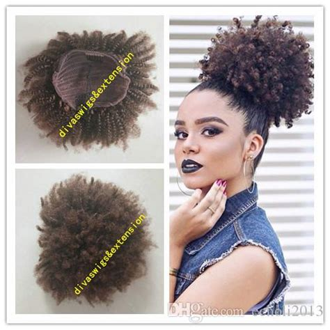 afro kinky curly weave ponytail hairstyles clip ins