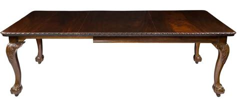 chippendale dining room table mahogany chippendale style dining room table late 19th century at 1stdibs