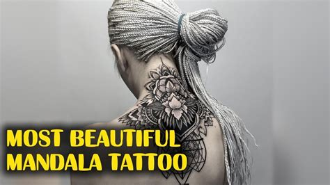 most beautiful mandala tattoo youtube