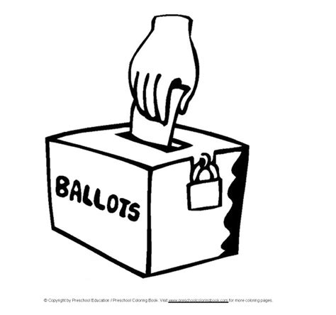 election day coloring pages preschool www preschoolcoloringbook com election day coloring page