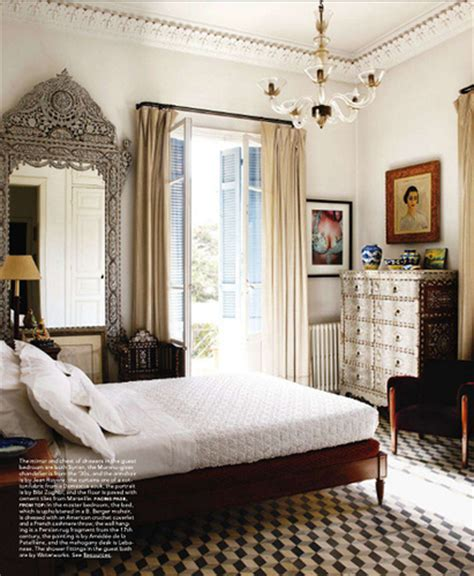 elle decor bedroom elle decor via coco kelley eclectic vintage bohemian morr