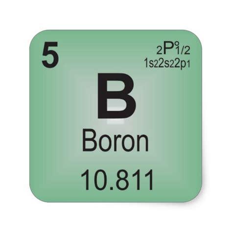 Boron Periodic Table by Boron Individual Element Of The Periodic Table Square