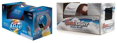 coors light mini keg coors light and miller light home draft gadgetking com