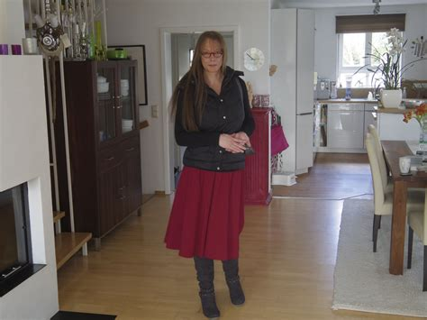 how to feminise my husband today my feminized boyfriend has to wear a red skirt my