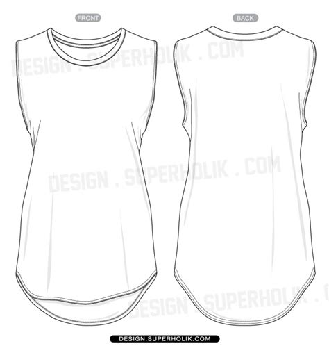 tank top template fashion design templates vector illustrations and clip