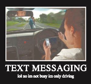 car accidents rise   straight year texting