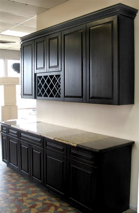 Kitchen Black Cabinets Chocolate Oak Kitchen Cabinets Sle Door Rta All Wood Ready To Ship Ebay