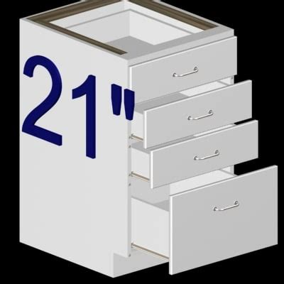 4 Drawer Kitchen Base Cabinet Max White 4 Drawer Kitchen