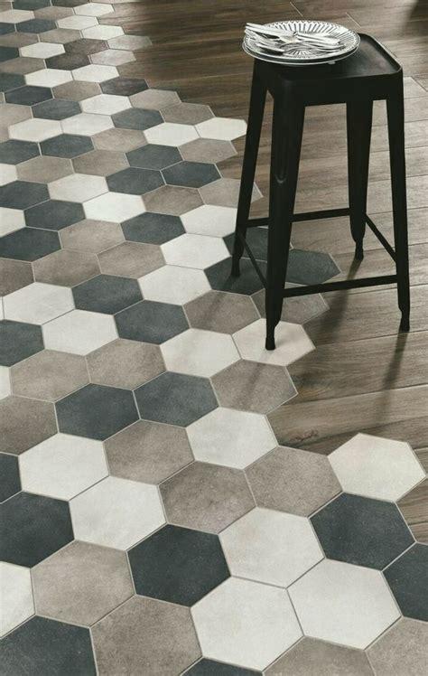 Hex Tile Floor by Best 25 Hexagon Floor Tile Ideas On