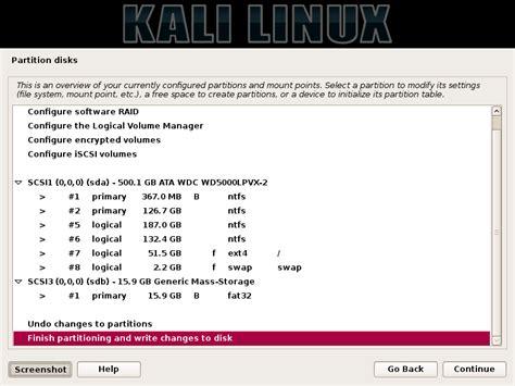 tutorial kali linux pdf indonesia tutorial cara install kali linux dual boot dengan windows