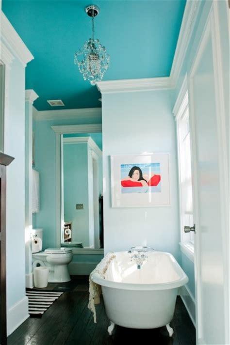 benjamin moore peacock blue   ceiling interiors