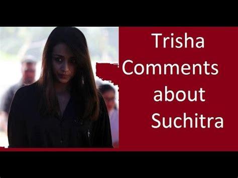 singer suchitra confirms, she divorce her husband karth
