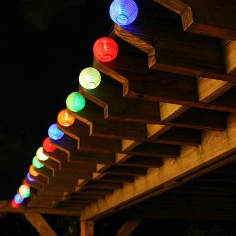 Solar Chinese Lantern String Lights   3711MR20