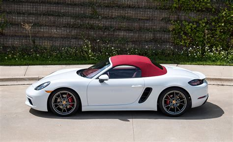 porsche boxster 2017 wallpaper porsche 2017 718 boxster s white side metallic