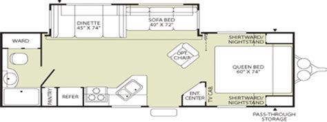 prowler cer floor plans 2007 fleetwood prowler 270fqs travel trailer stock 4504a
