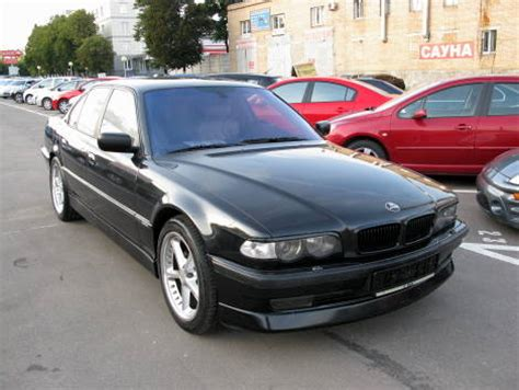 manual cars for sale 1999 bmw 7 series engine control 1999 bmw 7 series photos 3 5 gasoline fr or rr automatic for sale