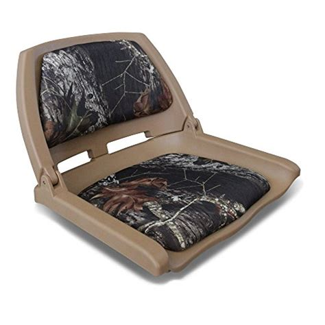 leader folding boat seat leader accessories new camo marine folding boat seat tan