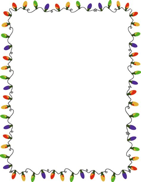 free christmas lights clipart pictures clipartix