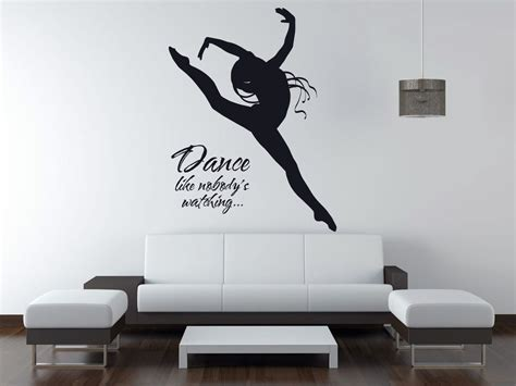 Wallpaper Stiker 039 like nobody s vinyl wall quote sticker