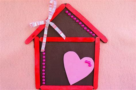 how to make craft for home is where the is magnet popsicle stick craft for