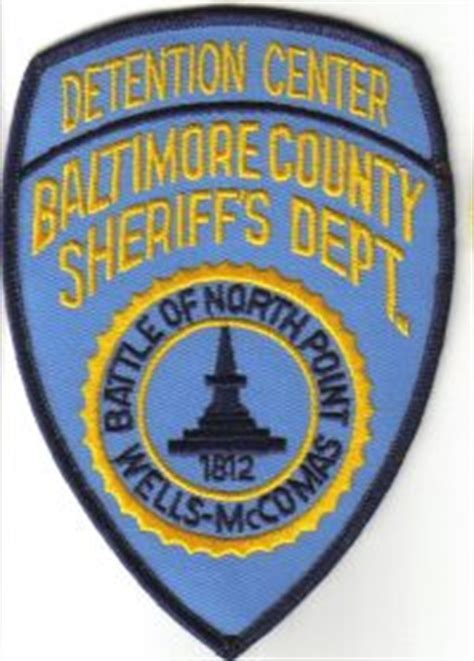 Baltimore County Sheriff S Office by Ben S Patch Collection