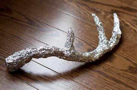 deer antlers diy pop chagne diy deer antlers